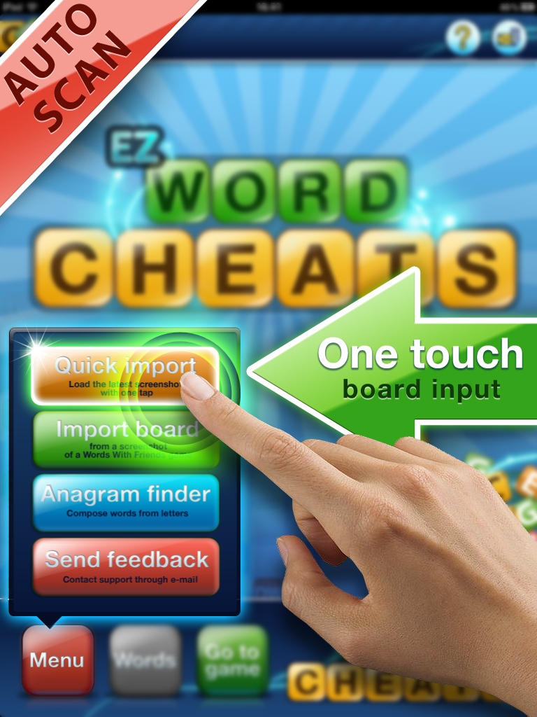 Words With Friends Auto Cheats